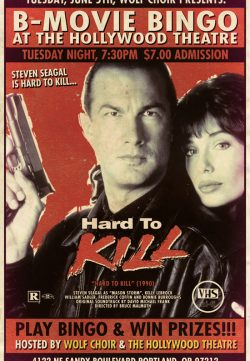 Hard to Kill (1990) BRRip 420p 300MB Dual Audio