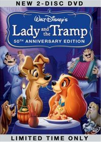 Lady and the Tramp (1955) BRRip 420p 250MB Dual Audio 1