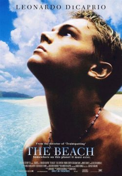 The Beach (2000) BRRip 420p 300MB Dual Audio