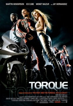 Torque (2004) BRRip 420p 300MB Dual Audio