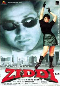 Ziddi (1997) Hindi Movie 450MB DVDRip 420P