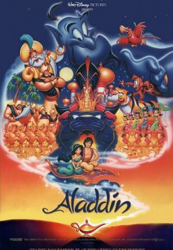 Aladdin (1992) HDTVRip 480p 300MB Dual Audio