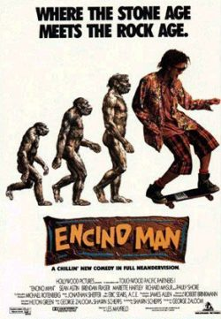 Encino Man (1992) BRRip 480p 300MB Dual Audio