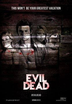 Evil Dead (2013) 250MB TSRip English 420P