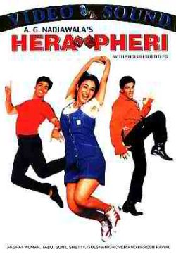 Hera Pheri (2000) Hindi Movie 375MB HDTVRip 420P