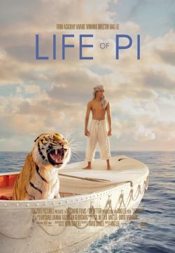 Life of Pi (2012) BRRip Multi Audio 400MB 480P ESubs
