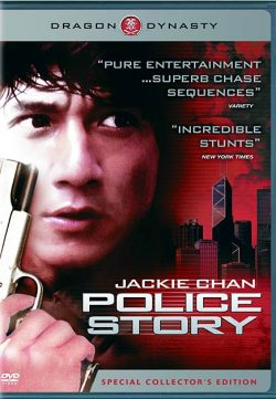 Police Story (1985) BRRip 420p 300MB Dual Audio