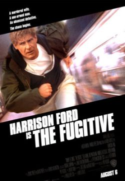 The Fugitive (1993) BRRip 480p 350MB Dual Audio