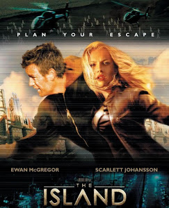 The Island (2005) BRRip 420p 300MB Dual Audio ESubs