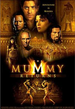The Mummy Returns (2001) 375MB 420p Dual Audio