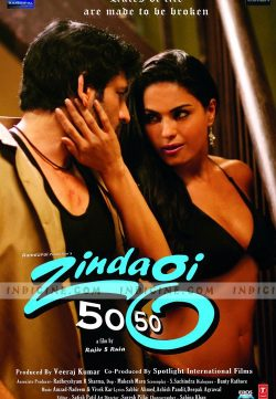 Zindagi 50 50 (2013) Hindi Movie 300MB DVDScr