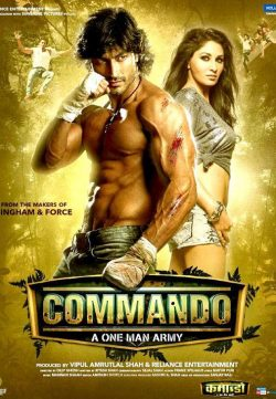 Commando (2013) Hindi Movie DVDRip 720P