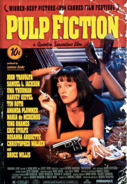 Pulp Fiction (1994) 375MB English BRRip 420p ESubs