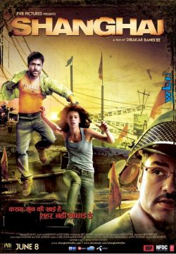 Shanghai (2012) Hindi Movie DVDRip