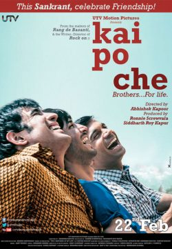 Kai po che (2013) Hindi Movie DVDRip