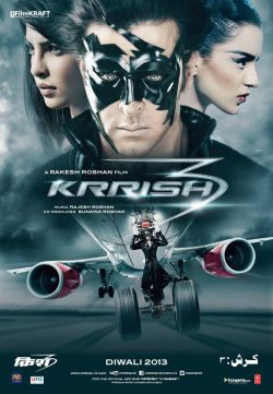 Krrish 3 (2013) Hindi Movie 400MB
