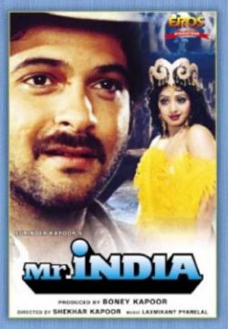 Mr India (1987) Hindi Movie 475MB BRRip 480P