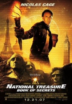 National Treasure Duology 300MB BRRip 420P Dual Audio