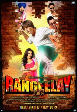 Rangeelay (2013) Punjabi Movie DVDScr