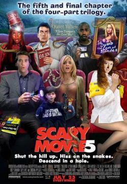 Scary Movie 5 (2013) English BRRip 300MB 420p