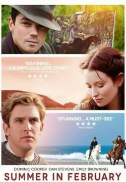 Summer in February (2013) English BRRip 720p HD