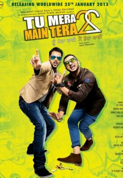 Tu Mera 22 Main Tera 22 (2013) Punjabi Movie DVDRip