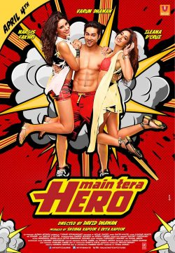Main Tera Hero 2014 Hindi Movie 350MB Watch Online Hd
