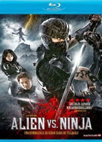 Alien vs Ninja 2010 Dual Audio 720p BluRay Free Download 300MB 1