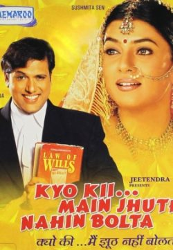 Kyo Kii Main Jhuth Nahin Bolta (2001) Hindi Movie Watch Online For Free In HD 1080p