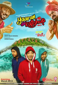 Yaaran Da Katchup 2014 700mb Punjabi Movies In HD 720p Free Download