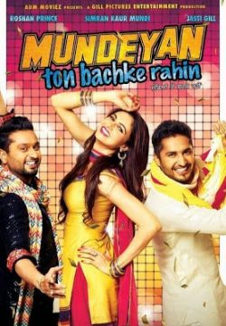 Mundeyan Ton Bachke Rahin (2014) Punjabi Movie Free Download 400MB 720p