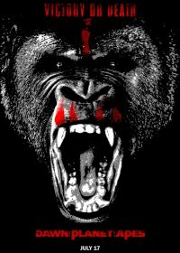 Dawn of the Planet of the Apes 2014 Hindi Dubbed Movie Free Download 480p 200MB 2
