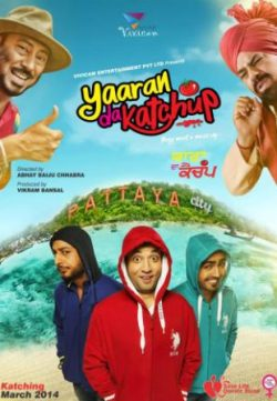 Yaaran Da Katchup (2014) Punjabi Movie Free Download In HD 480p 700MB