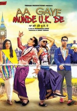 Aa Gaye Munde U.K. (2014) Hindi Movie Free Download HD 480p 200MB