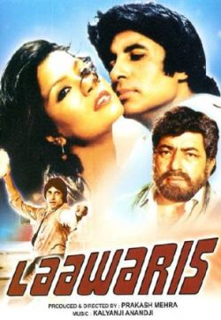Laawaris (1981) Hindi Movie 400MB 480p DVDSCR Download