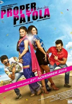 Proper Patola (2014) Punjabi Movie Download HD 720p 250MB