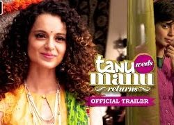 Tanu Weds Manu Returns (2015) Hindi Movie Official Trailer 720P