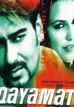 Qayamat (2003) Hindi Movie 200MB HD 480p