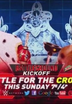 WWE Battleground Kickoff (2015) PPV WEBRip 200MB