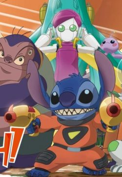 Stitch and the Planet of Sand (2012) Hindi Dubbed 150MB HD 500P
