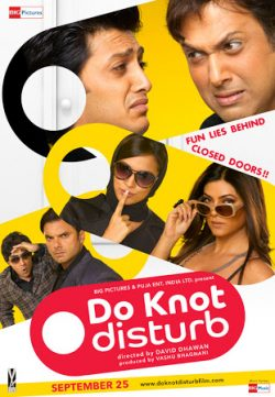Do Knot Disturb (2009) Hindi Movie DVDRip 480P 300MB Download