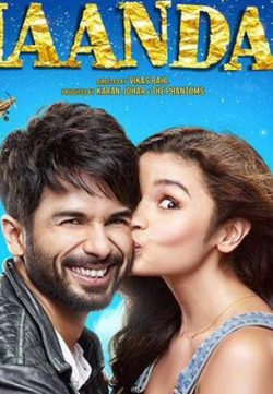 Shaandaar 2015 Hindi Movie 300MB BRRip 480P