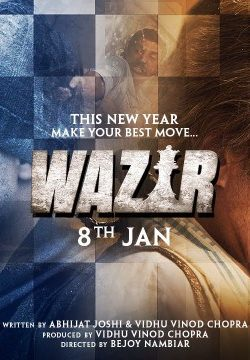 Wazir (2016) Hindi Movie Watch Online DVDScr 720p
