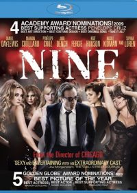Nine 2009 Hindi Dubbed Download DVDRip 720p