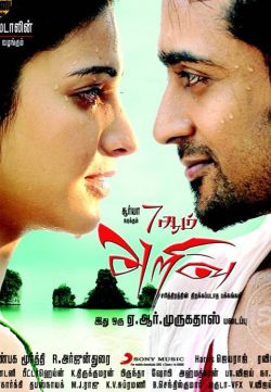 7 Aum Arivu (2011) Hindi Dubbed HDRip 300MB
