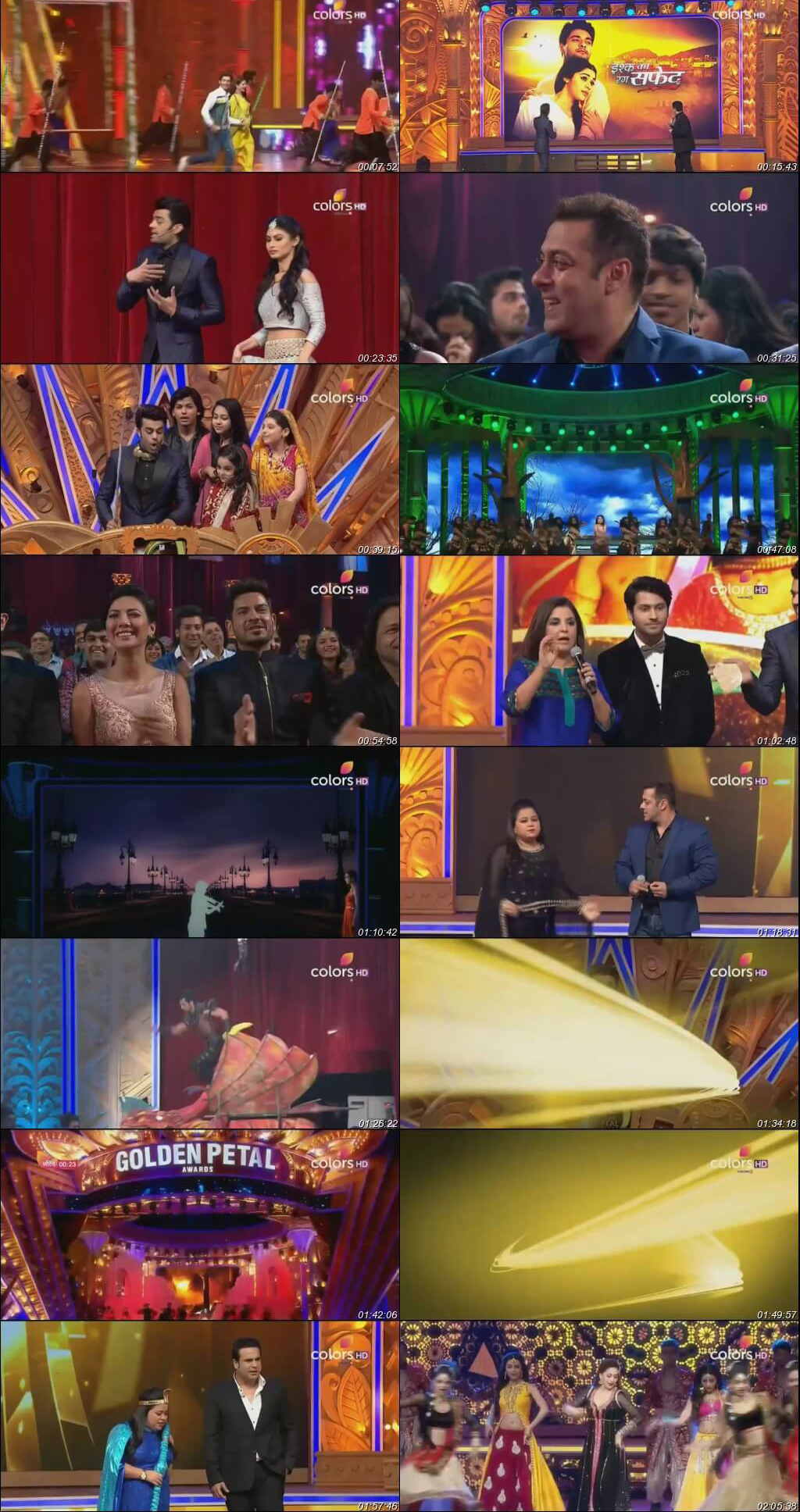 Golden Petal Awards 10th April 2016-2