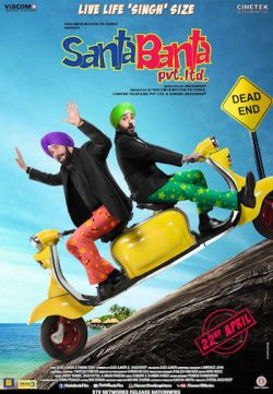 Santa Banta Pvt Ltd 2016 Hindi Movie DVDRIP 500MB