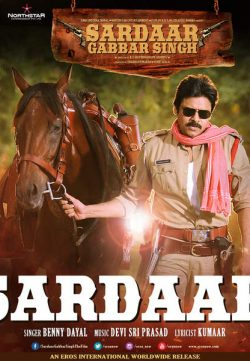 Sardaar Gabbar Singh 2016 Hindi Dubbed HDprint 400MB