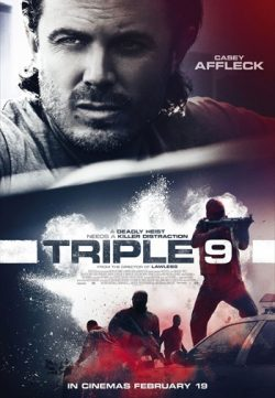 Triple 9 (2016) English Movie DVDRIP 400MB