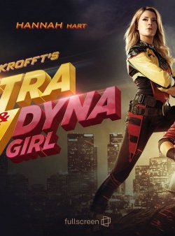 Electra Woman & Dyna Girl (2016) English DVDRIP 480p